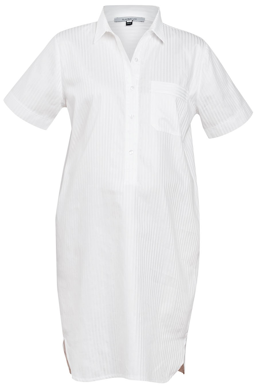 NIGHTSHIRT Shortsleeve Cotton