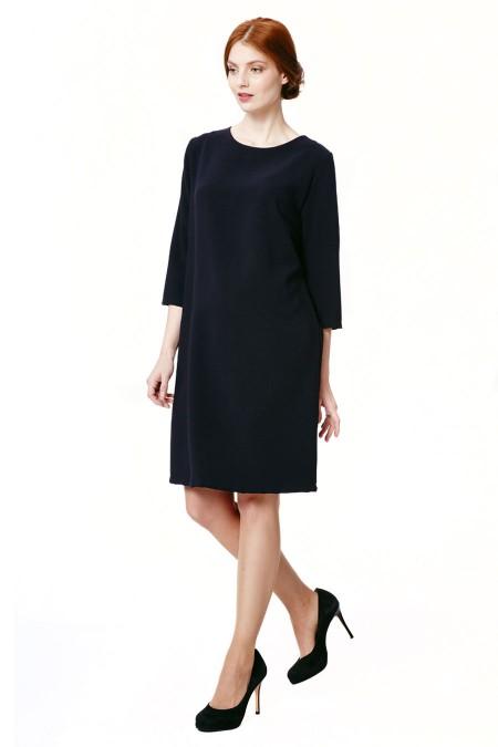 LARA Crepe Mix Dress Outfit
