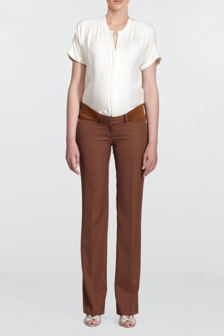 NEW YORK Classic Wool Pants Combination 6048