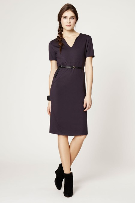 HONG KONG V-Neck Dress Outfit