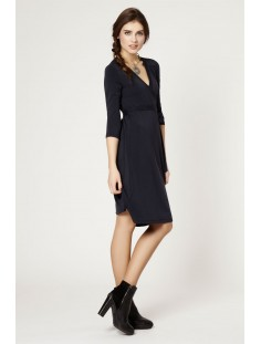 ZOE Plain Wrap Dress