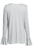 ELLA T-shirt with ruffle details