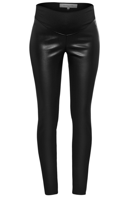 DALLAS Faux Leather Treggings Combination 5458