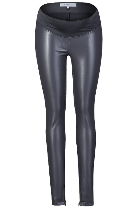 DALLAS Faux Leather Treggings Combination 5504