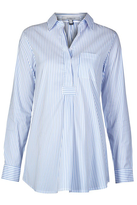 MUNICH Cotton Shirt Blouse Combination 5925
