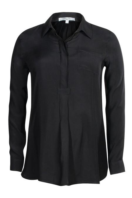 Munich Matt Silk Shirt Blouse Combination 5937