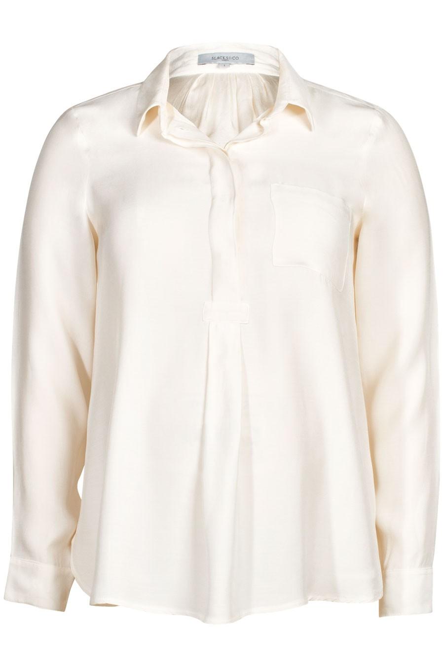 Munich Matt Silk Shirt Blouse