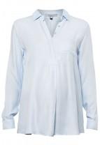 MUNICH Viscose Twill Shirt Blouse