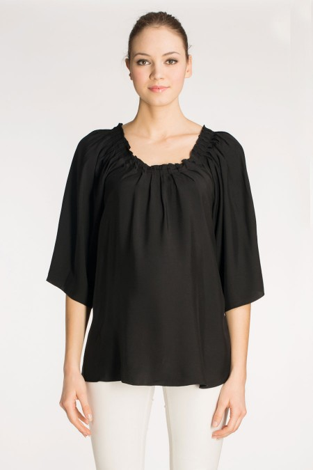 MENORCA Evening Drape Top Combination 5886