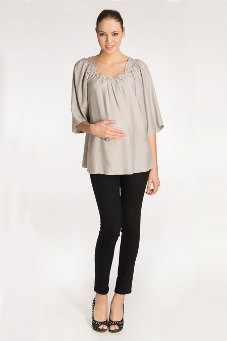 MENORCA Evening Drape Top Combination 5890