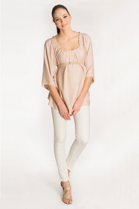 MENORCA Evening Drape Top Combination 5888