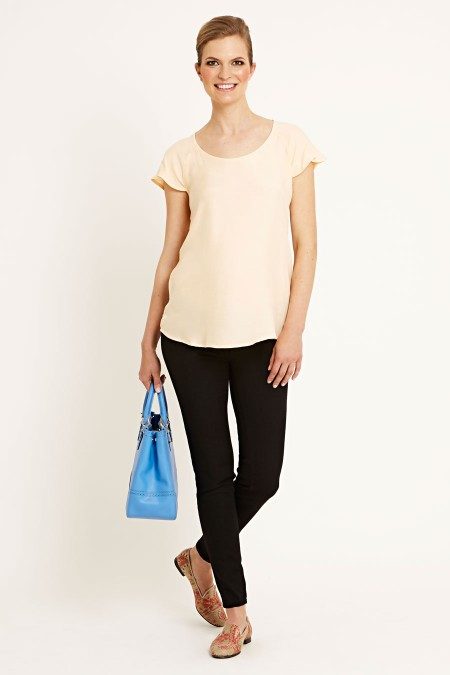 TORONTO Cap Sleeve Top Combination 6869