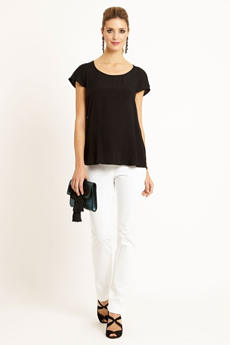 TORONTO Cap Sleeve Top Outfit