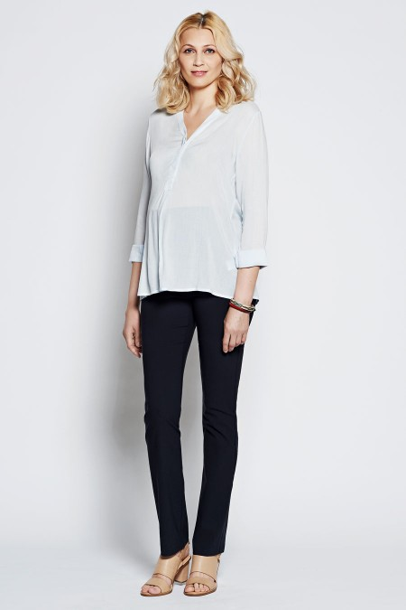 TRIESTE V-Neck Blouse Outfit