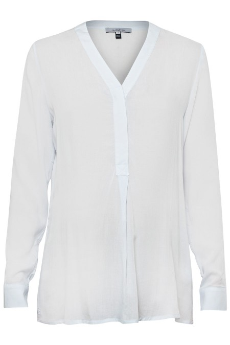 TRIESTE V-Neck Blouse Combination 6893