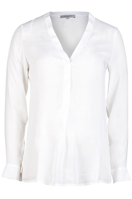 TRIESTE V-Neck Blouse Combination 6887