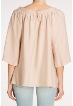 MENORCA Evening Drape Top
