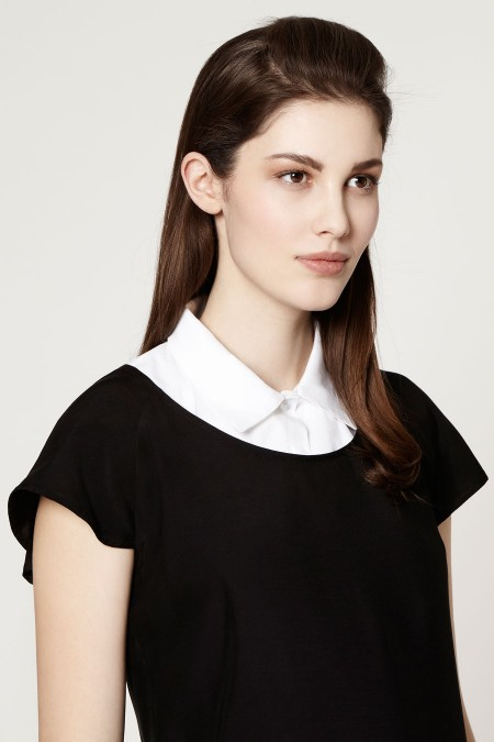 MARY Pointed Collar Outfit