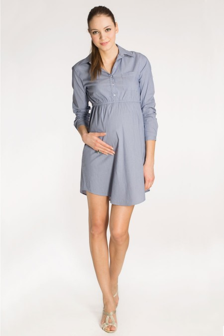 BALI Cotton Shirt Dress Combination 5142