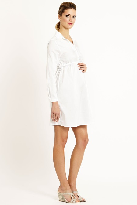 BALI Cotton Shirt Dress Outfit
