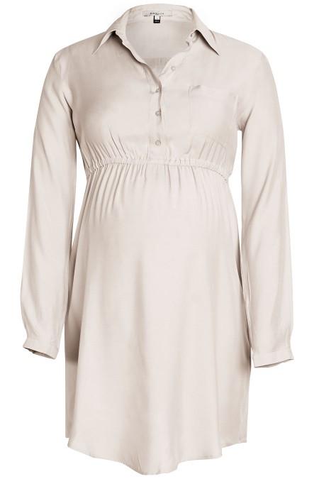 BALI Matt Silk Shirt Dress Combination 5155