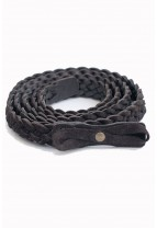 ACAPULCO Suede Plaited Belt