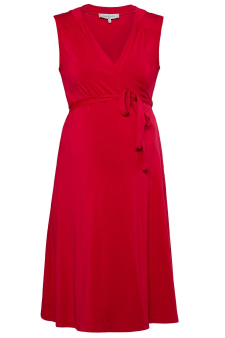 CHLOE Plain Wrap Dress Combination 5445