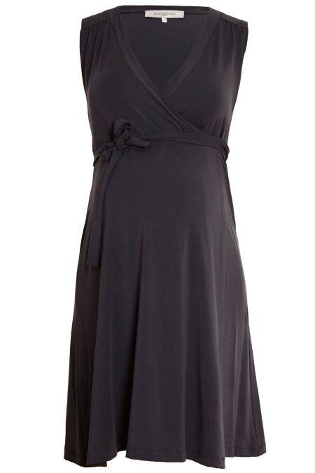 CHLOE Plain Wrap Dress Combination 5441
