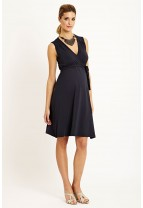 CHLOE Plain Wrap Dress