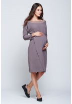 VERBIER Organza Detail Dress