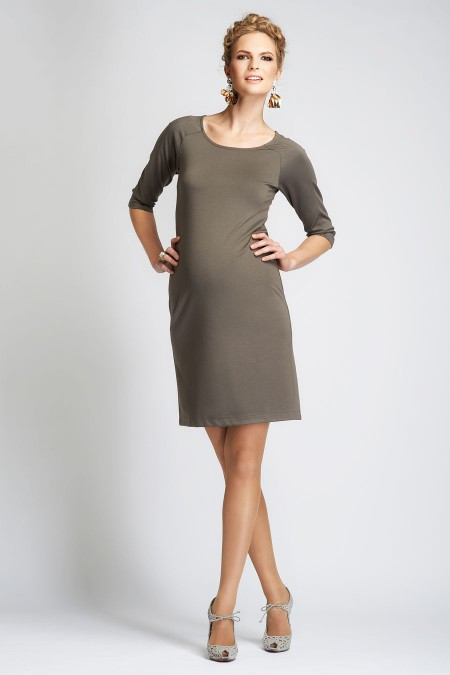 VERONA Round Neck Dress Combination 6978