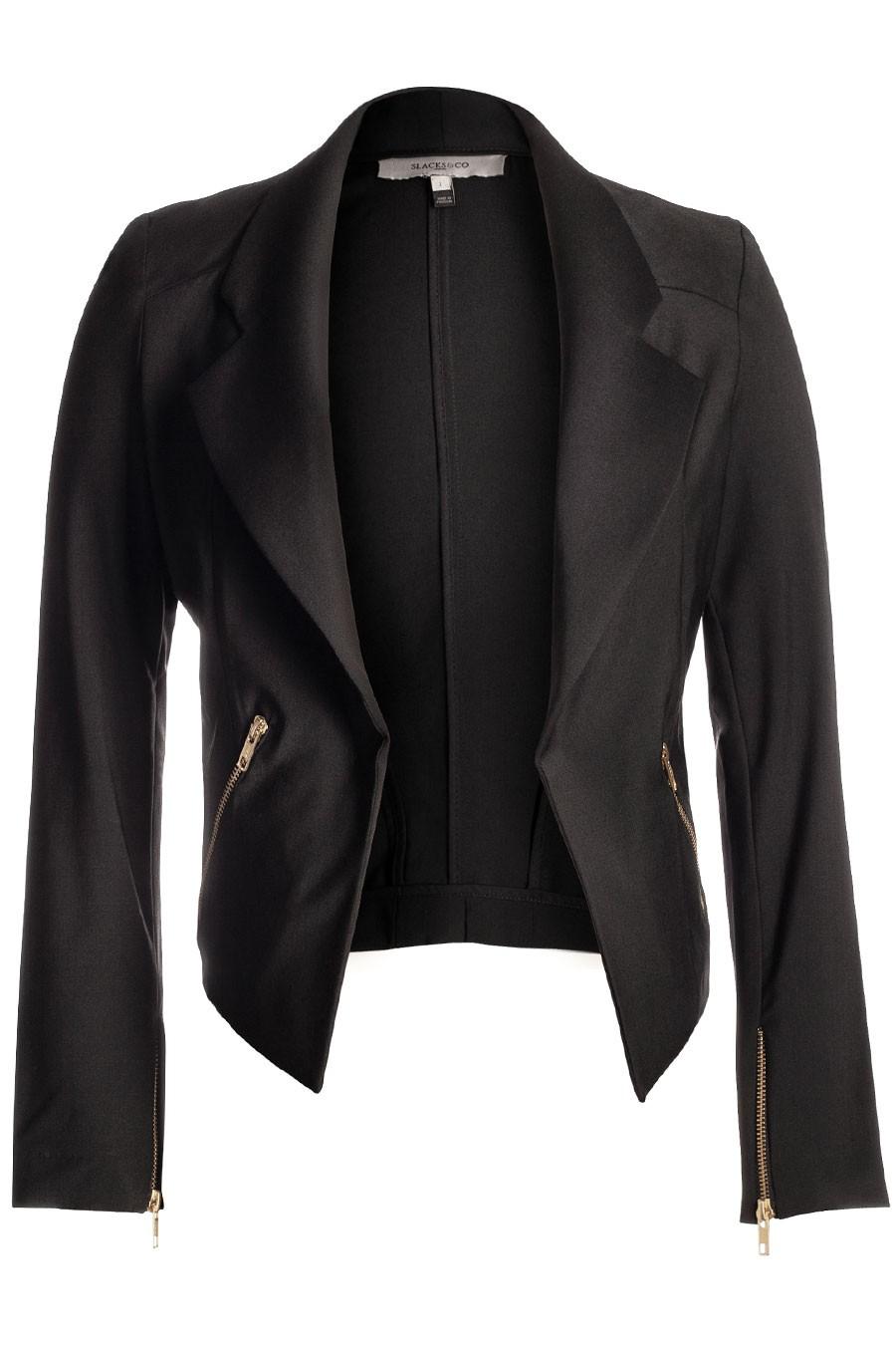 BARCELONA Cropped Formal Jacket