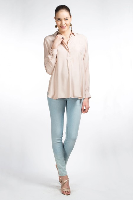 SOHO Skinny Jeans Over Combination 6754