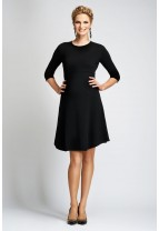 GSTAAD Dress with A-Line Skirt
