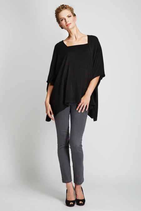VAIL Poncho Top Outfit