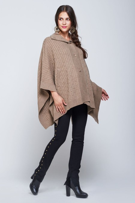 VERMONT Cape Cardigan Outfit