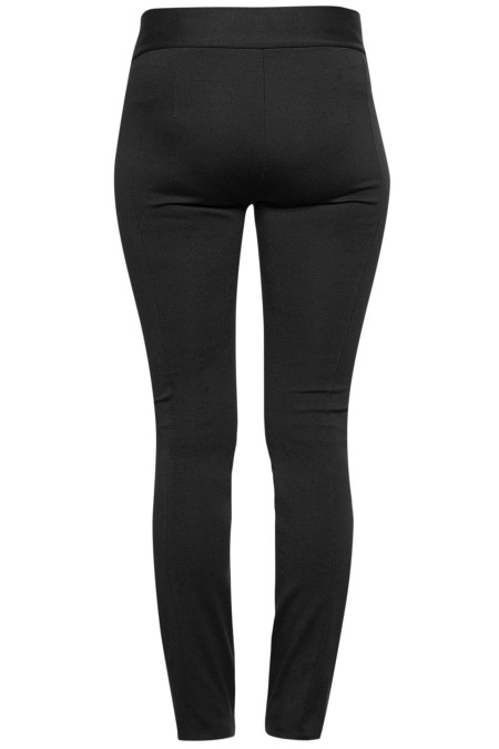 DALLAS Faux Leather Treggings Combination 5462