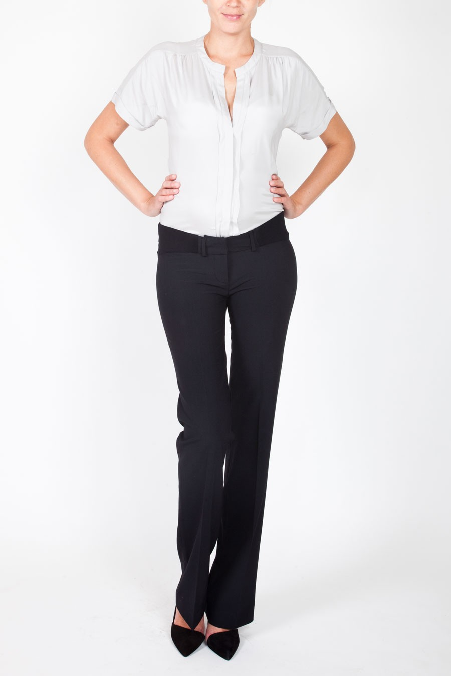 NEW YORK Classic Cotton Pants