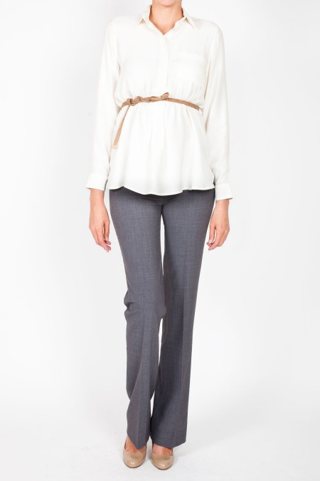 NEW YORK Classic Wool Pants Combination 6058